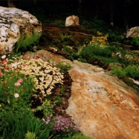 Сад в Нью-Хэмпшире