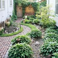 декоративно-лиственные культуры в дизайне маленького садового участка