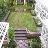 многоуровневый сад