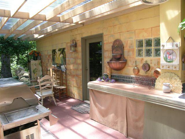 Летняя кухня на дачном участке все