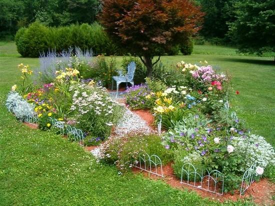 Планировка сада своими руками фото